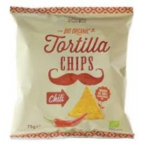 Chipsy Tortilla chilli 75g BIO TRAFO