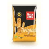 Chipsy Tortilla original  90g BIO LIM