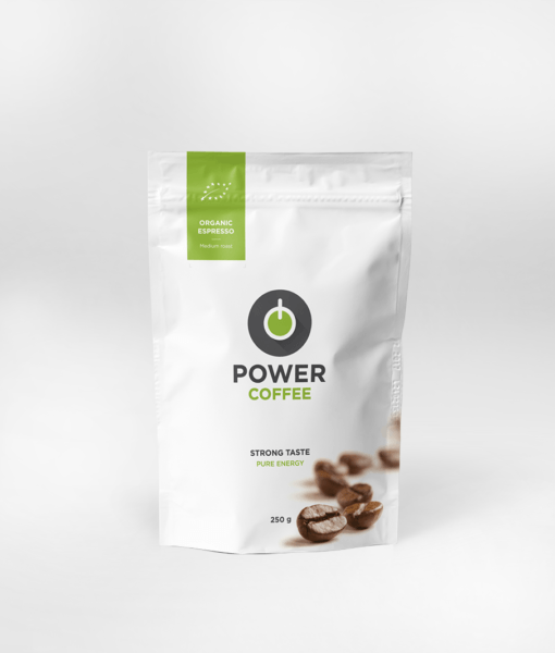 Káva Power coffee 250g BIO POWERLOGY